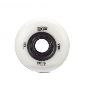 Fila Urban wheels 80mm/84A White (confezione 8 ruote)