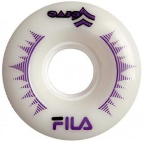 Fila Roller wheel 58mm White-Violet (confezione 4 ruote)