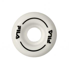 Fila Roller wheel 58mm White/Black (confezione 4 ruote)