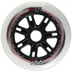Fila wheels 90mm/83A x 8 White (confezione 8 ruote)