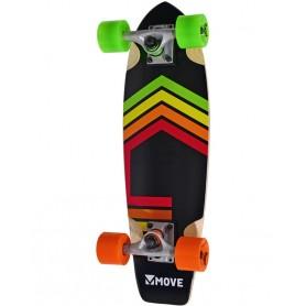 """Skateboard CRUISER da 23"""" """"Neon"""" Move"""