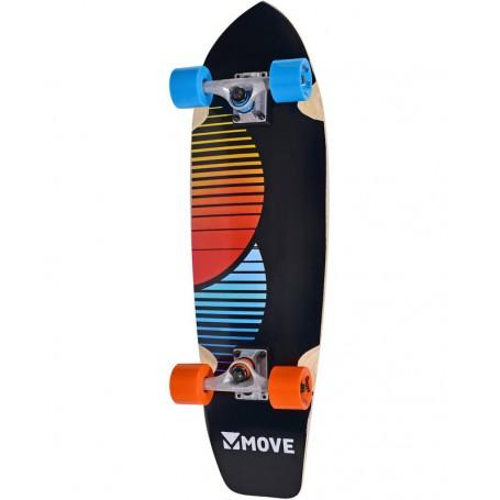 """Skateboard OARD CRUISER da 30"""" """"Chill"""" Move"""