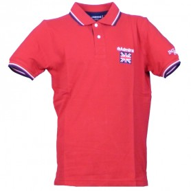 Admiral Polo M/C ENGLISH (0045) Red