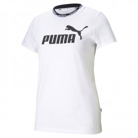 Puma Amplified graphic Tee White