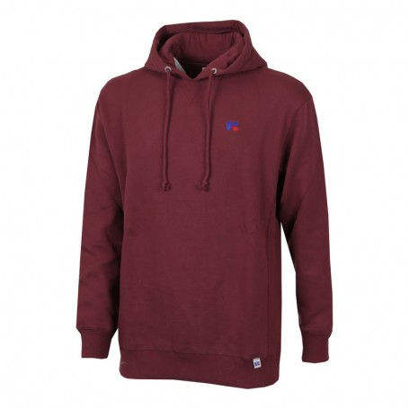 """Russell Athletic Eagle """"R"""" Mason-Sml EMB Hoody Rosso (426-T4)"""