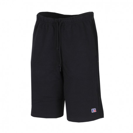 """Russell Athletic Eagle """"R"""" FORESTER2-SWEAT SHORT Nero (099-IO)"""