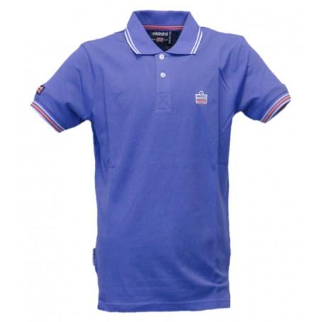 Admiral Polo Piquet Logo Sportswear Blue Royal (Blue Royal 035)