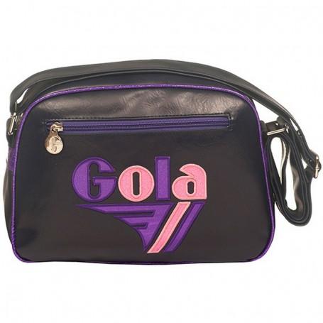 Borsa Tracolla Gola Mini Redford Glitter (Navy/Purple/Pink) Blu Porpora Viola