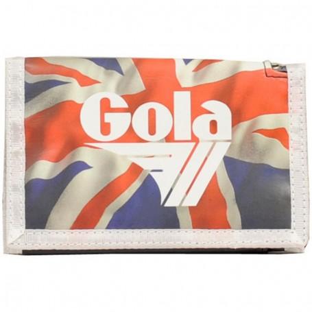 Portafoglio Gola Coppola CUB511 Britannia Rosso/Oro