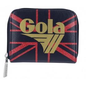 Portafoglio Gola Davis Sparkle UJ CUC212 (Navy/Red/Gold) Blu/Rosso/Oro