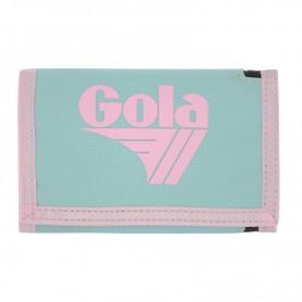 Portafoglio Gola Big Coppola Selectra CUB173 (Pastel Blue/Pastel Pink) Celeste-Rosa