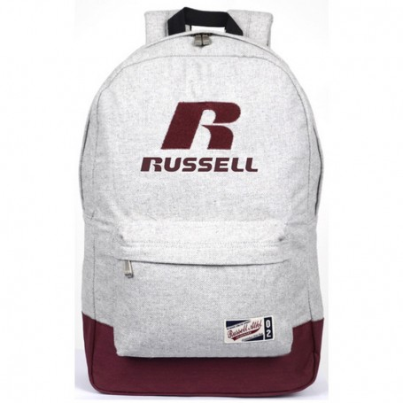 Zaino Scuola A6-311-2 Russell Athletic Biano/Bourdeaux