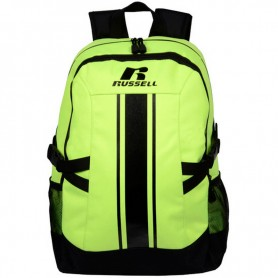 Zaino Scuola A6-384-2 Russell Athletic Back-pack 368-HB-YELLOW Giallo/Nero