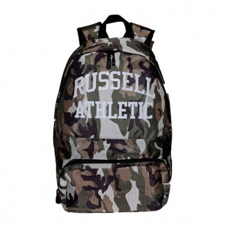 Zaino Scuola A7-357-1 Russell Athletic Charlie Camo Back-Pack mimetico Verde