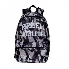 Zaino Scuola A7-357-1 Russell Athletic Charlie Camo Back-Pack mimetico Grigio