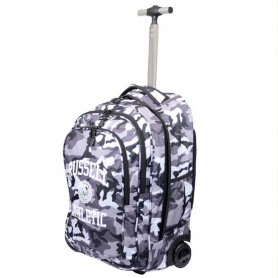 Russell Athletic FOXTROT CAMO TROLLEY BAG Nero