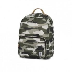 The Pack Society Zaino assic backpack green camo allover (Mimetico)