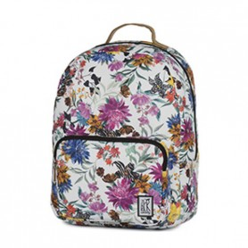 The Pack Society Zaino assic backpack multicolor flower allover (Multicolore)