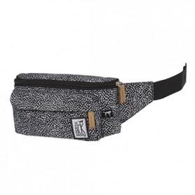 The Pack Society Marsupio bum bag off white black dot allover (Multicolore)